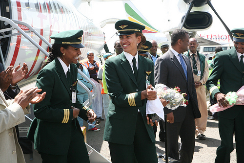 The First Female Captain At Ethiopian Airlines Empower